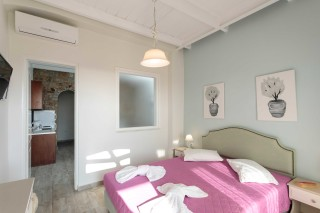 accommodation nikos maria apartments double bedroom