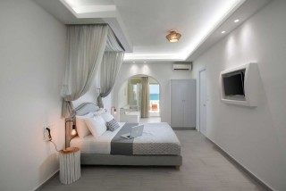 accommodation nikos maria apartments luxurious bedroom