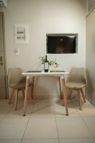 accommodation nikos maria apartments welcome drink